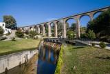 A Antiga Ponte Ferroviária e o Rio Zela