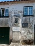 Homenagem de Ucanha junto à casa onde nasceu José Leite de Vasconcelos