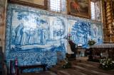 Os Azulejos da Capela-mor: Visão de São Bernardo e São Bernardo a enviar os monges para a Península Ibérica