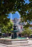 A Fonte da Praça Luís de Camões