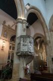 O Púlpito da Igreja Matriz de Tomar
