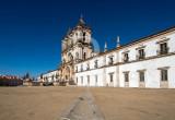 O Mosteiro de Alcobaça em 10 de Março de 2014