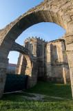 O Aqueduto e a Igreja de Santa Clara