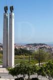 As Colunas Imperiais do Parque Eduardo VII