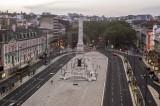 Praça dos Restauradores e Av. da Liberdade (CIP)