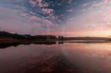 A Lagoa de Óbidos em 5 de dezembro de 2014