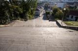 A Escadaria Monumental Vista do Alto