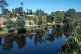 O Rio Alva em Arganil