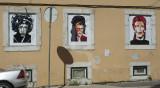 Hendrix, Winehouse e Bowie, por Puri Salví