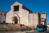 Convento de São Francisco - O interior, como de costume, só está aberto a biscateiros.