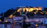 Lisbon's Castle by Night