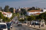 A Av. Bento Jesus Caraça e o Castelo de Vila Viçosa