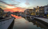 The Sunset at Aveiro's Ria