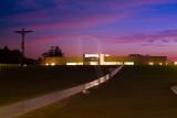 Vista Nocturna da Igreja da Santíssima Trindade