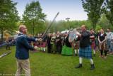 Opening Highland Games