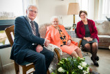 Mevrouw  Van Sprang - Van  Brenk  103 jaar
