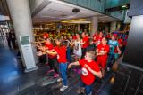 Flashmob in hal Stadhuis Vianen