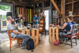 De 'JazzCompany'op het Kunstfort Asperen Podium
