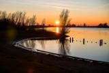 Zonsondergang bij 'De Put'