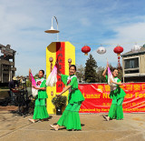 Chinese New Year celebration, 2014. Sponsored by the Intercultural Committee of Harbor Bay, Alameda.
