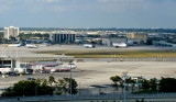 2011 - a view of the Northeast Base, formerly the Eastern Airlines maintenance base and headquarters, at Miami International