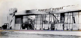 1938 - the aftermath of the very expensive fire at Hangar #2 at Miami Municipal Airport