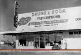 1950's - Honey Hill Pharmacy at NW 2nd Avenue (State Road 7 and US 441) and Honey Hill Road (NW 199th Street)