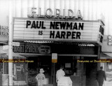 1966 - the marquee and box office for downtown Miami's Florida Theatre