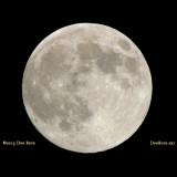 2013 - Super Moon over Miami on June 22, 2013