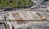 2007 - the Miami Intermodal Center (MIC) under construction east of Miami International Airport