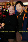 January 2014 - Dave Kaufman and Ben Wang in the gate area before the last Delta DC-9 flight ever to Atlanta