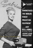 Bell & Howell color slide projectors featuring Sabrina