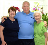June 2014 - Karen and Don with her mom Esther at Wendy and Jim's home