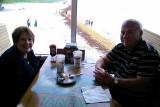June 2014 - Karen and Don celebrating 32nd wedding anniversary at the Quarterdeck Restaurant on Dania Beach Pier