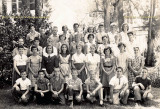 1957 or 1958 - 5th or 6th grade class at Sunset Elementary School