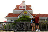 August 2014 - Karen and Don at the Kentmorr Restaurant and Crab House in Stevensville, Maryland