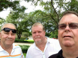 September 2014 - Don Boyd, Wade DeNero and Erik Funderburk at opening of runway 10R at FLL
