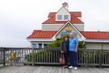 November 2014 - Karen and Don at the Kentmorr Restaurant and Crab House in Stevensville, Maryland