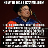 2015 - Donna Shalala and the shameful University of Miami pineland deal near ZooMiami in southwest Miami-Dade