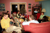 December 2005 - family gathering after Christmas Eve service in Franklin, Tennessee