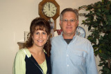 December 2005 - Kathy and Jim Criswell after Christmas Eve service and dinner in Franklin