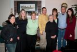 December 2005 - Natsumi Iwamoto, Donna, Karen, David, Esther, Kathy, Jim and Katie in Franklin