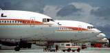 June 1979 - National Airlines McDonnell-Douglas DC-10's N62NA, N63NA, N66NA and N83NA aviation airline photo