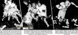 1939 - Miami Daily News photos of the Christmas Day Garfield High School victory over the Miami High Stingarees