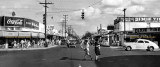 1948 - looking east on NW 36th Street at 17th Avenue with the Dade Theatre on the left just past Whelan Drugs in Allapattah