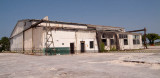 June 2007 - the former Naval Reserve Air Base hangar (Bldg. 408) shortly before the Aviation Department demolished it