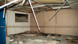 June 2007 - interior office space on the first level of the former Naval Reserve Air Base hangar before MDAD demolished it