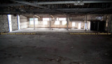 June 2007 - the interior of the historic Naval Reserve Air Base hangar shortly before the Aviation Department demolished it