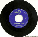 1960's - When You Were My Girl by Russ Samuel with The Vanguards and The Teacher's Pets on Art Records' AFS label