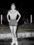 Mid 1950's - Hazel Jackson in her Big Wheel Drive-in carhop uniform